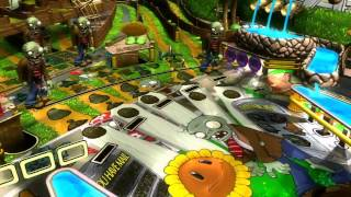 Why Yes, There is a Plants vs. Zombie Pinball Game!