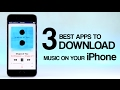 TOP 3 Best Apps to Download Music on Your iPhone (OFFLINE MUSIC) | 2018 #4 [NEW]