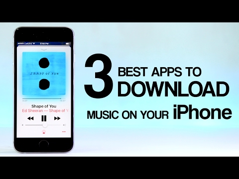 TOP 3 Best Apps to Download Free Music on Your iPhone (OFFLINE MUSIC) | 2018 #4 [NEW]