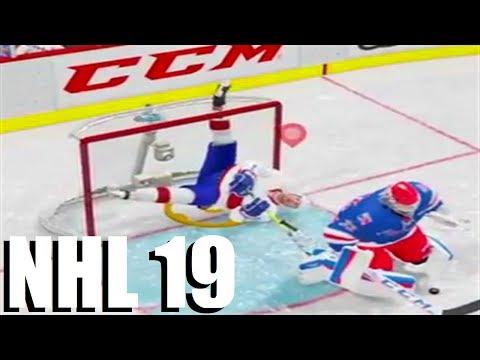 CRAZIEST HITS IN NHL 19