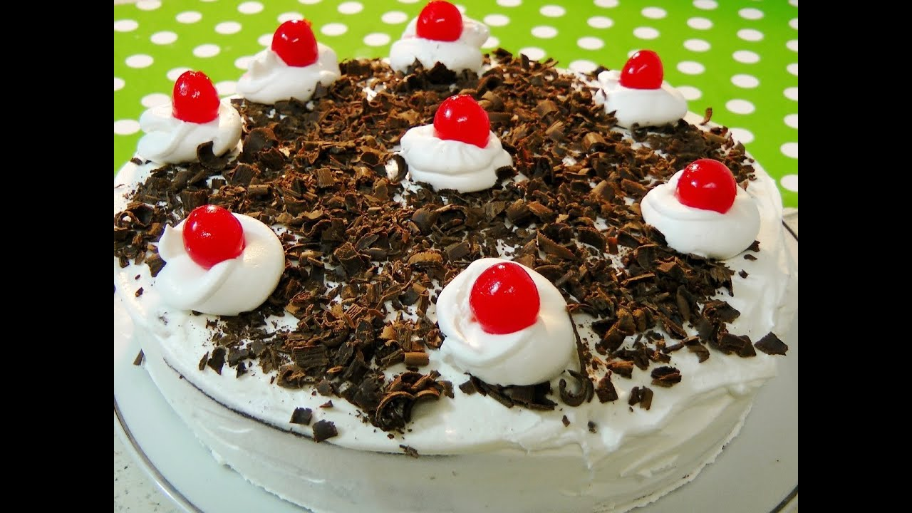 Black Forest  Birthday Cake Images Ideas