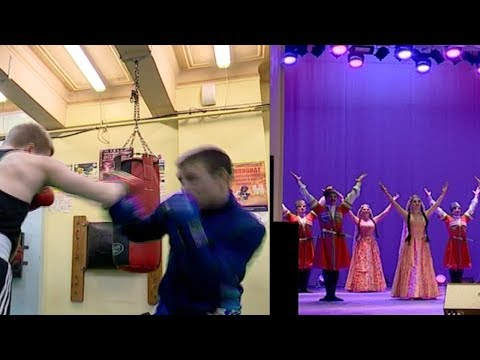 Культура и спорт по-дагестански: гости Магадана