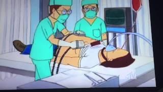 Beavis's butt hurts
