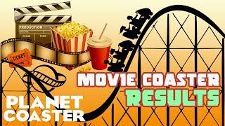 Movie Coaster Contest Results! #PlanetCoaster