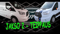 #Ford #Transit #Tuning - Part 2/4 - Wrapping - feat. Pohjanmaan mainosteippi