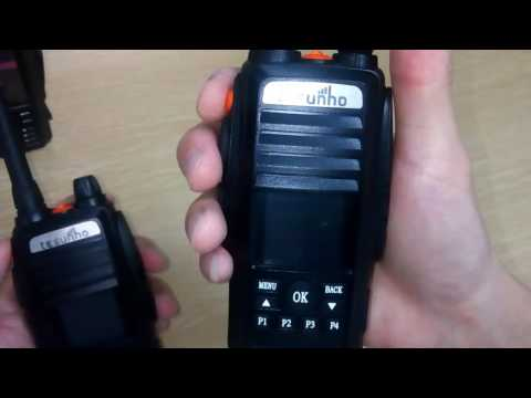 TH 388 tesunho IP radio SOS function demo