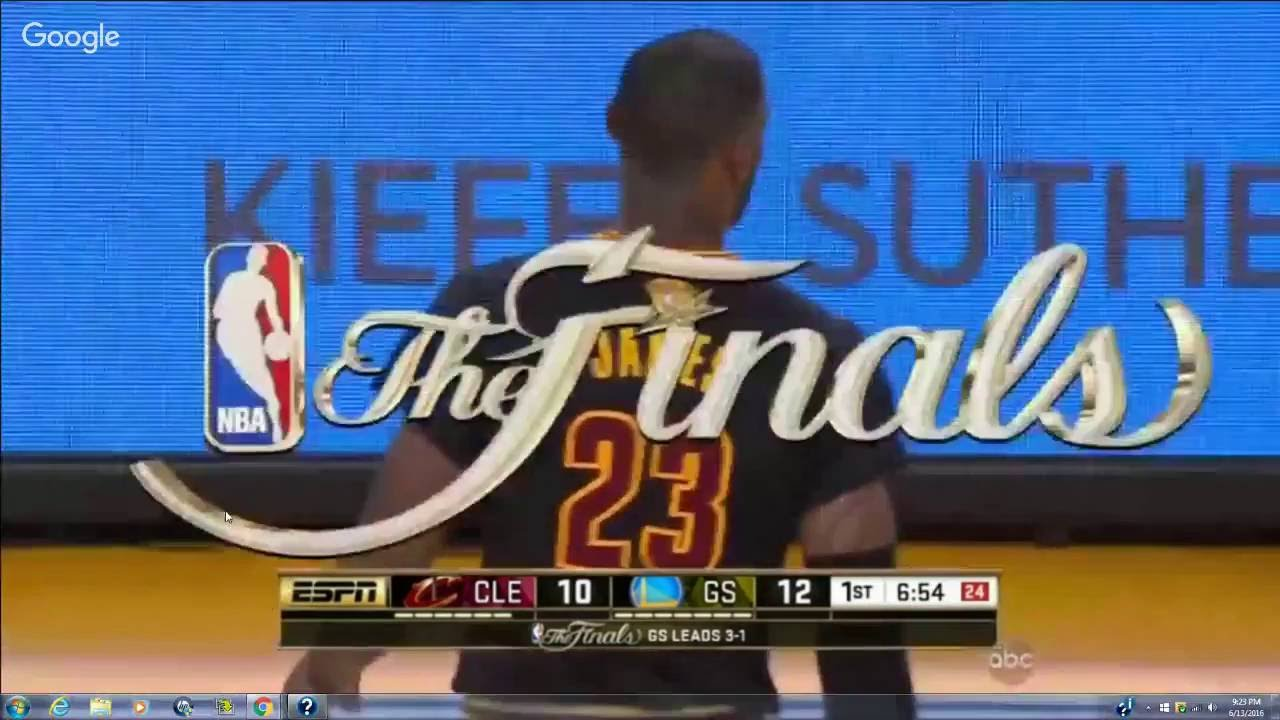 Cleveland Cavaliers vs Golden State Warriors Full ...