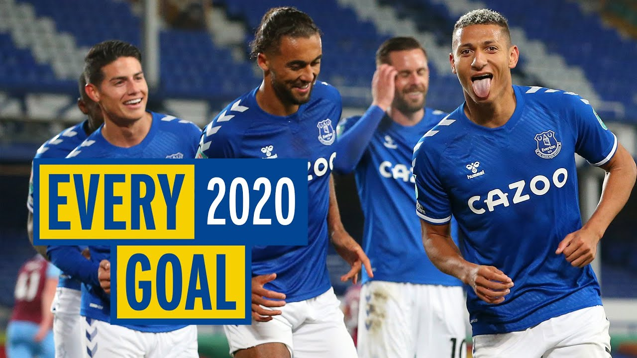 Download EVERY EVERTON GOAL IN 2020! | ALL 59 STRIKES OF THE YEAR!