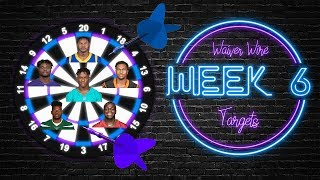 2019 Fantasy Football - Week 6 Waiver Wire Targets