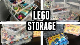 My TOP Lego Storage Solution Ideas for Organization