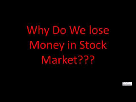 Intraday Trading - Why traders lose money