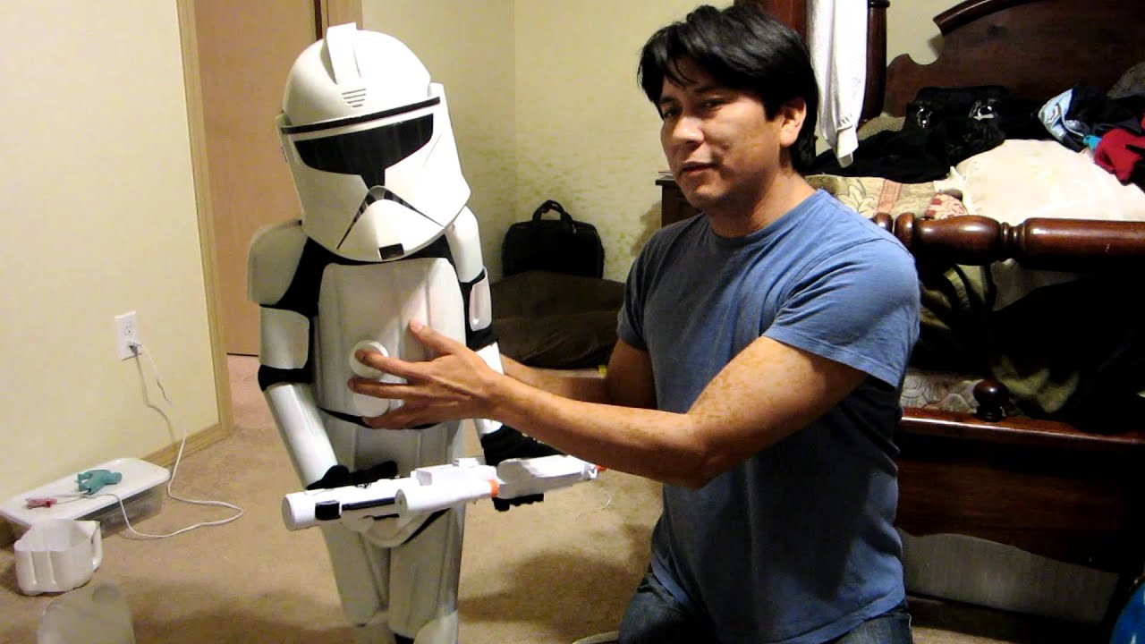 Diy star wars clonetrooper armor from milk jugs youtube solutioingenieria Image collections