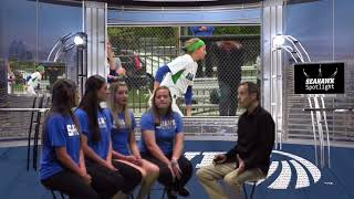 Seahawk Spotlight - Salve Regina Softball Seniors (May 17, 2017)