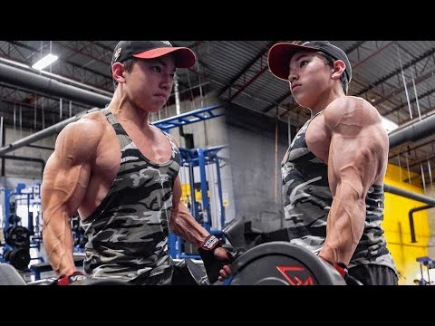 GETTING PUMPED AND SHREDDED!    FULL CHEST WORKOUT W/ TRISTYN LEE