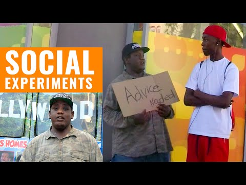 Do People Give The Homeless Advice? - All Def Digital&39;s Social Experiments