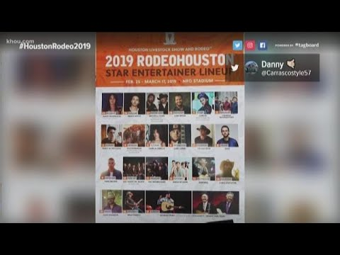 VERIFY: Is the leaked RodeoHouston 2019 concert lineup real?