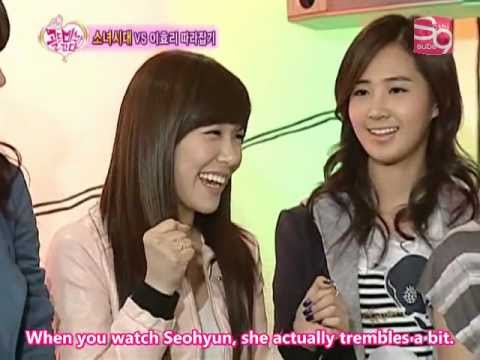 [Eng Sub] 03.01.09 SNSD Gold Miss Is Coming