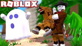 COWBOY CreamTeam Menangkap HANTU BANDIT - Roblox Indonesia Ghost Simulator #3