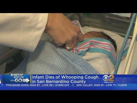 San Bernardino County Baby Dies From Whooping Cough