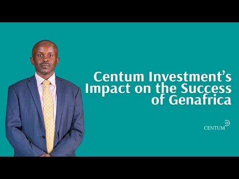 Centum Investment's Impact on Success of GenAfrica