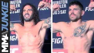 UFC on ESPN 5: Jim Miller, Clay Guida make weight for bout