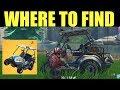 "Fortnite New Vehichle ""All Terrain Kart Gameplay"" Where to Find the All terrain Kart in Fortnite"