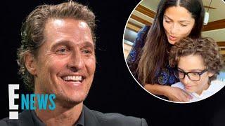 Matthew McConaughey's Son Is His Mini Me | E! News