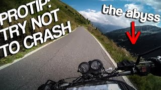 ONE HELL OF A SCARY ROAD! (Gavia Pass) [RAW Onboard]