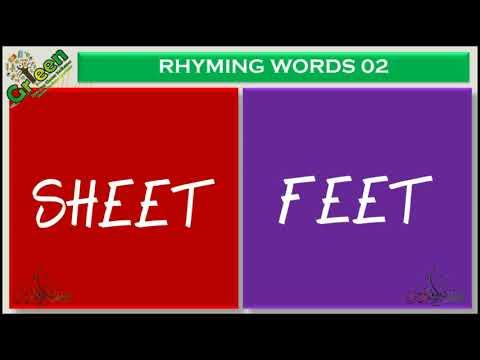 25 Rhyming words 02 | English Rhyming Words Part 02 | Poems | Rhymes | Rhyming Words