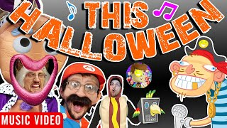 This Halloween 🎵 Raptain Hook (Funnel Vision FAMILY Halloween Compilation) Animated Music Video