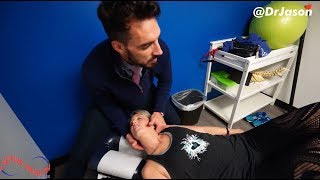 """Dr. Jason - EMOTIONAL STRESS Causes LOWER BACK PAIN / """"I""""m Done Suffering!"""""""
