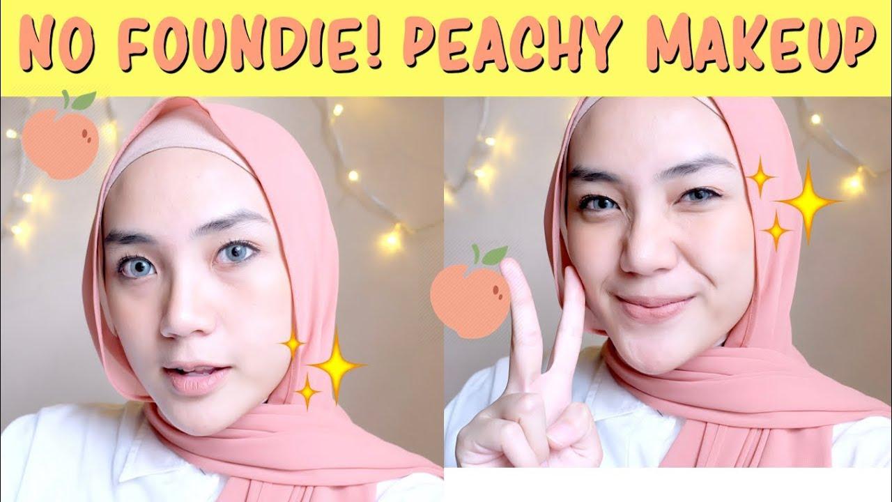 Tutorial Peach Makeup Untuk Remaja Makeup Natural Untuk Remaja Makeup Pemula Raniekarlina Youtube