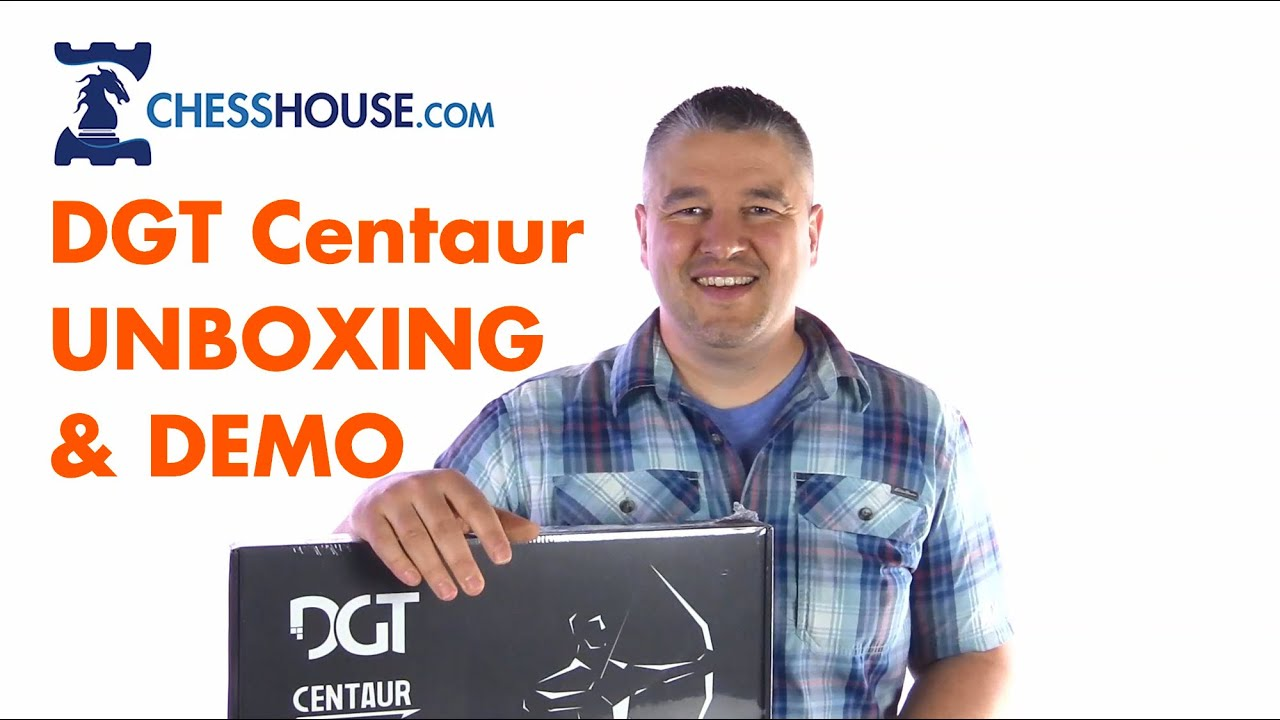 Unboxing DGT CENTAUR Chess Computer and How it Works