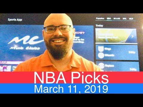 NBA Picks (3-11-19)   Basketball Sports Betting Expert Predictions Video   Vegas   March 11, 2019 thumbnail
