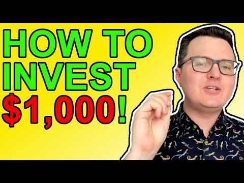 Crypto: How To Invest Your First $1,000