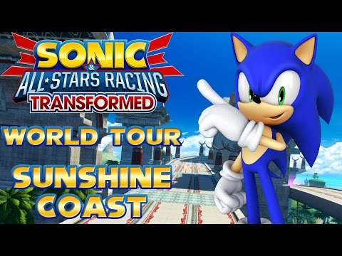 Sonic & All-Stars Racing Transformed (PC) - World Tour - Sunshine Coast All S Rank