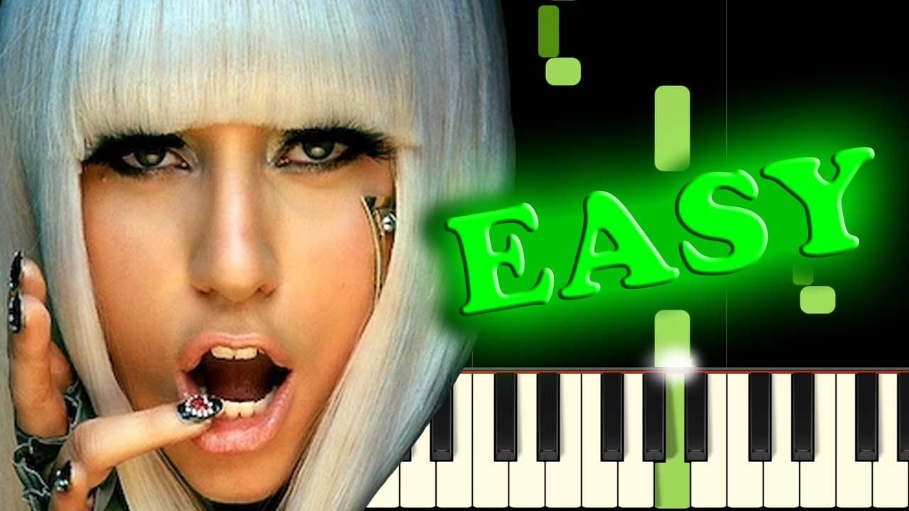 Poker face lady gaga piano tutorial / Support casino 888