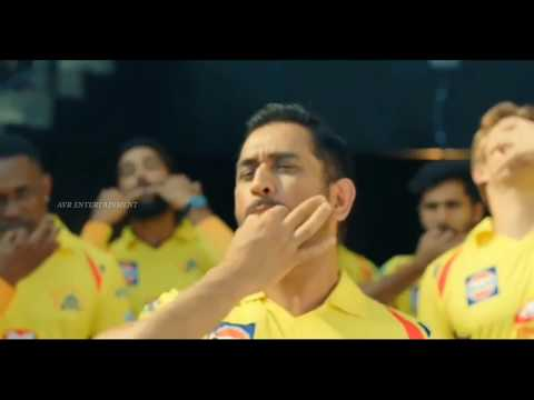 Official CSK Returns IPL 2018 || Ms Dhoni ...