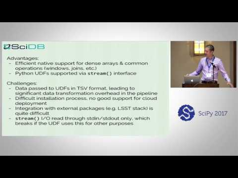 Scientific Analysis at Scale - a Comparison of Five Systems | SciPy 2017 | Jake VanderPlas