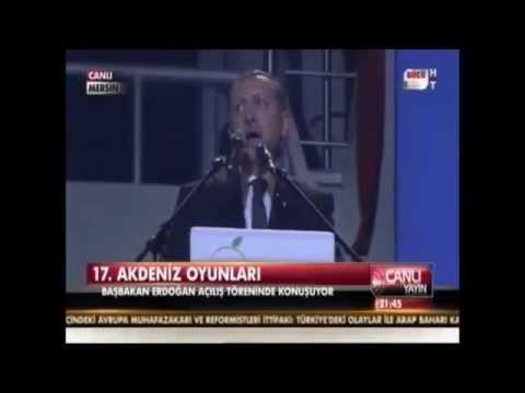 Recep Tayyip Erdoğan Gafı   Akdenize White Sea Çevirisi