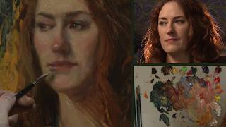 Painting the Backlit Portrait Sketch with Bryce Liston