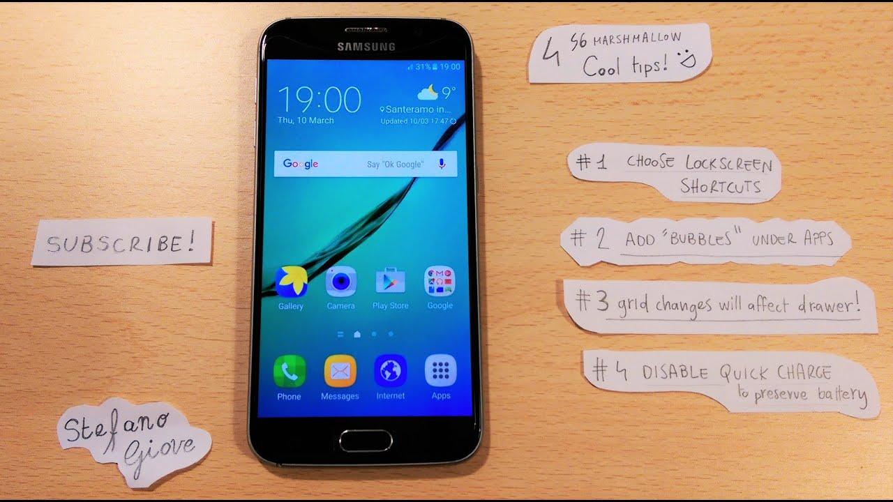 Marshmallow Galaxy S6