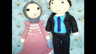 Download Video Boneka rajut muslim couple by @nov_rajut MP3 3GP MP4