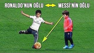 Ünlü Futbolcuların Çocukları Futbol Oynadıklarında, (Ronaldo,Messi,Neymar,...,)