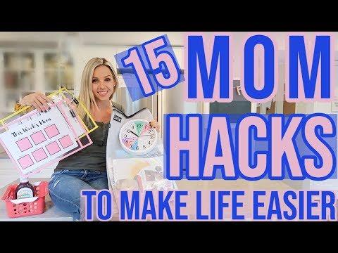 15-real-life-time-saving-mom-hacks-to-make-life-easier-//-organize-your-life