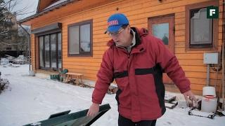 Большая реконструкция бревенчатого дома. Инженерные системы