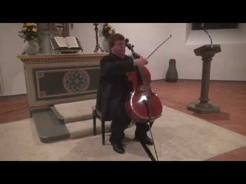 Ligeti cello solo sonata - Guido Schiefen [HD]