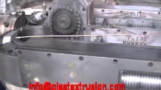 Гибкая гофрированная электрический трубопровод экструзии труб машина