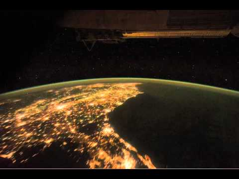 Space station flies over mexico and eastern u s youtube for Space station florida