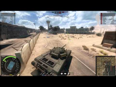 Armored Warfare T-72 Ural Gameplay 1